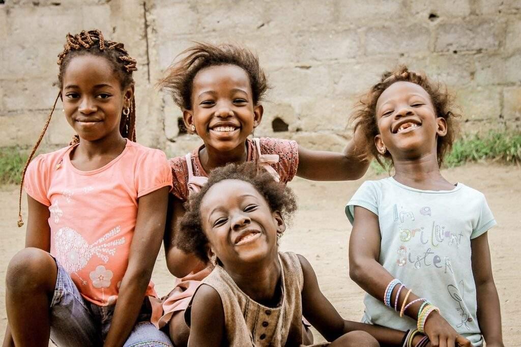 African children - Cape & Grapes